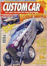 CUSTOM CAR AUGUST 2001-MIKE KEYS MODEL B-40 FORD-SALT FLATS MGA-1949 FORD-ROD