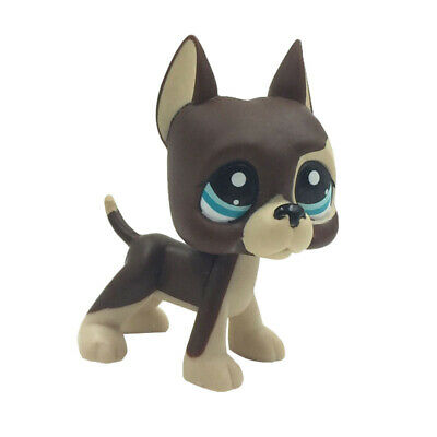 Littlest Pet Shop LPS #817BIS Great Dane Dog Toy In Box Collection Puppy Rare