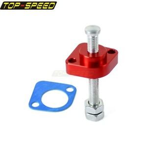 CNC-Manual-Cam-Timing-Chain-Tensioner-Adjuster-For-Honda-VFR800-2002-08-New-Red
