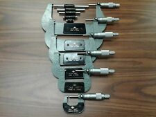 "INSIZE Outside Micrometer Mic SET 0-6x0.0001/"" Model # 3203-66"