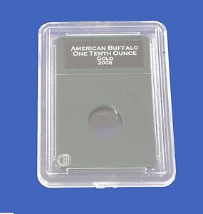 Premier Certified Style Coin Holder for American 1 Ounce Eagle Buffalo w// Labels