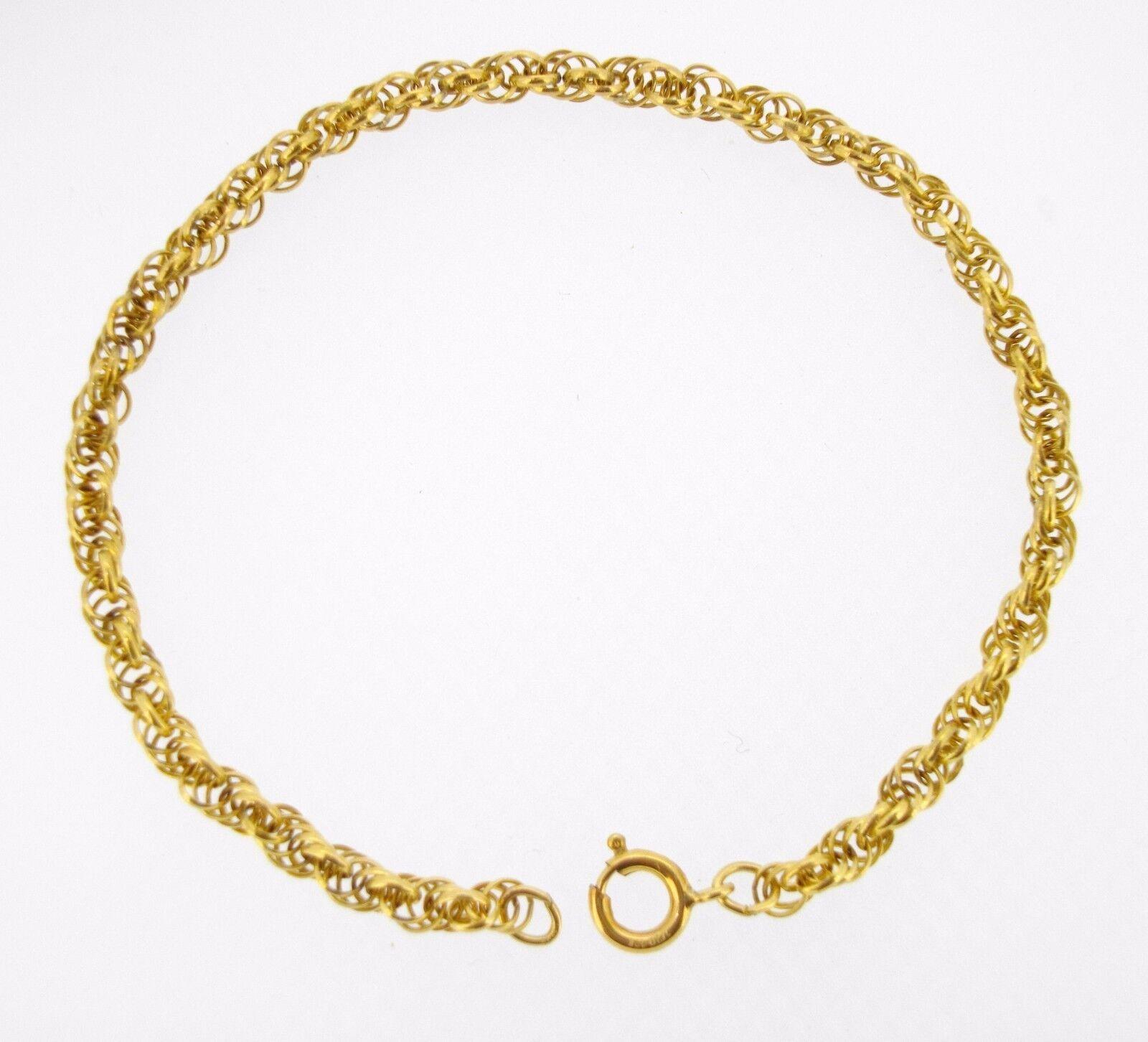 Bracelet Sweet brand gold filled ROPE link chain