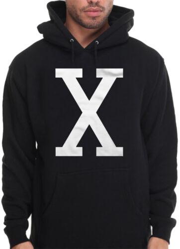 Men/'s X Black King Power Hoodie Malcolm Hip Hop Rap BLM Lives Matter Sweatshirt