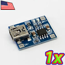 5V Mini USB 1A Lithium Ion Battery Charging Lipo Charger Module TP4056 for 18650