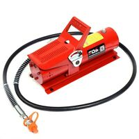 10,000 Psi 10 Ton Porta Power Hydraulic Air Foot Pump Control Lift 170psi on sale