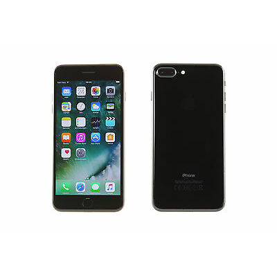 Apple iPhone 7 Plus 256GB Diamantschwarz (Ohne Simlock) - Top Zustand # AKTION