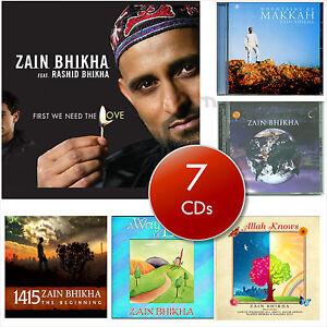 Details about Zain Bhikha Islamic Nasheed CD Songs English Arabic Children  Kids Gift Islam