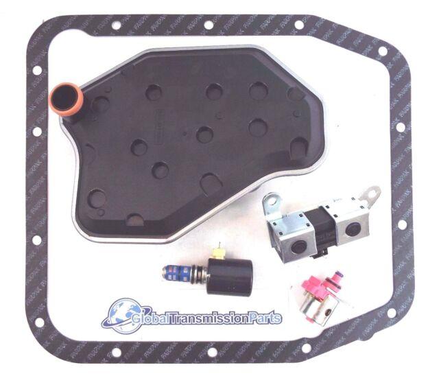 Ford 4R70W AODE Transmission Solenoid Filter Kit EPC TCC