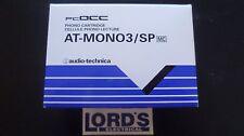 Genuine audio technica at-mono3 / SP spostamento BOBINA Cartuccia per 78 giri / min