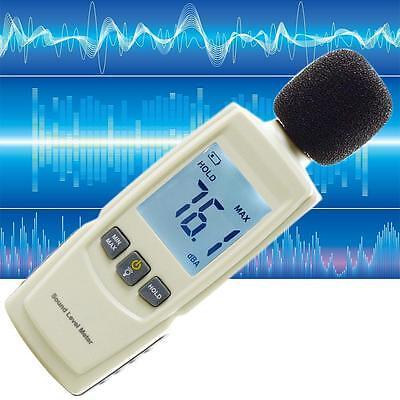 Digital Sound Level Meter Noise Volume Decibel Monitoring Tester 30-130dB ❃Q
