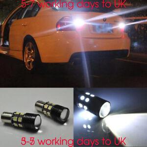VW Polo 6R White 4-LED Xenon Bright ICE Side Light Beam Bulbs Pair Upgrade