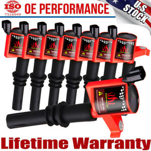 8 2004 2005 2006 2007 2008 Ignition Coils Pack For Ford F-150 4.6//5.4L V8 TRITON