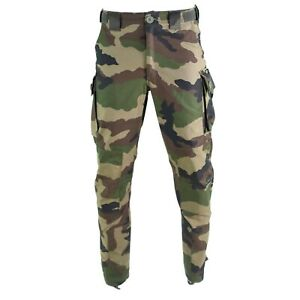 6ffaf6d048bdf Genuine French army combat pants military FELIN CCE camo T4 trousers ...