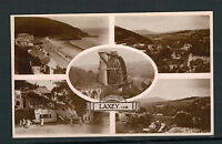 ISLE OF MAN. MULTI VIEW OLD REAL PHOTO POSTCARD