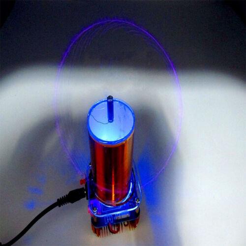 KIT FAI DA TE 30W MINI musica BOBINA Tesla Plasma Altoparlante Wireless Tesla Arco Generatore