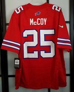 huge discount 1f9b8 1cf8c Details about Men's Buffalo Bills LeSean McCoy #25 Nike Red Color Rush  Legend Jersey Size 2XL