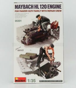 MINIART 1/35 ACCESSORIES | MAYBACH MOTORE - ENGINE HL120 | /