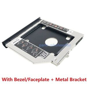 2nd-HDD-SSD-Hard-Drive-Caddy-for-ASUS-X554-X555-A555-K555-F555-Faceplate-Bracket