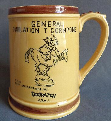 Antigua Taza De Ceramica Taza Dogpatch Vintage Usa Parque De Atracciones General Jubilo T Cornpone Ebay
