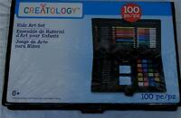 Creatology 100 Piece Kids Art Set - Brand In Carry Case