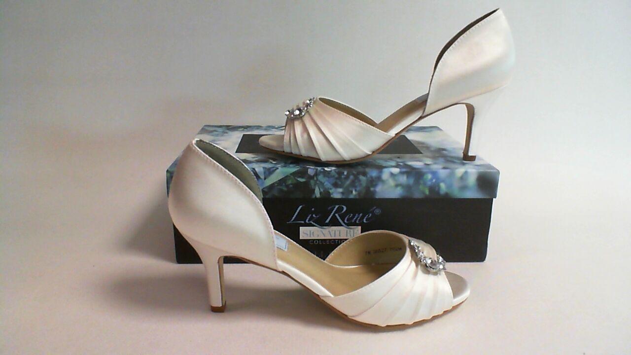 Liz Rene Wedding Shoes- Justine- White - 702M - US Size: 6.5M UK 4 #14L459