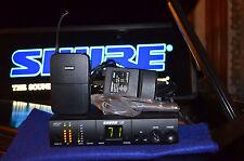 Shure UC4 UHF Wireless Guitar System w/case  UC1 UA Nice