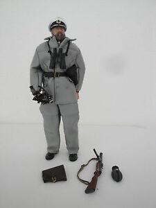 1/6 Ou 12 In (environ 30.48 Cm) Ww2 Allemand De Ultimate Soldier/21st Century Toys-afficher Le Titre D'origine Frissons Et Douleurs