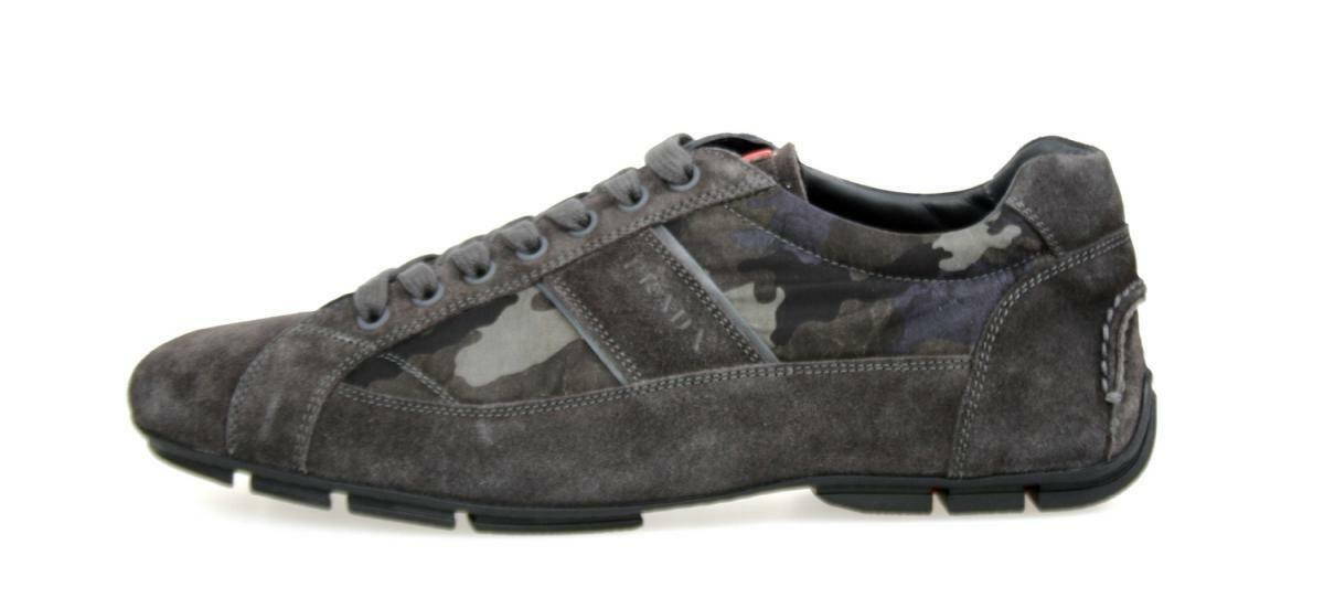 Luxe Prada Monte Carlo Sneaker Chaussures 4e2854 camouflage neuf new 41,5 7 41 41,5 new 1a0430