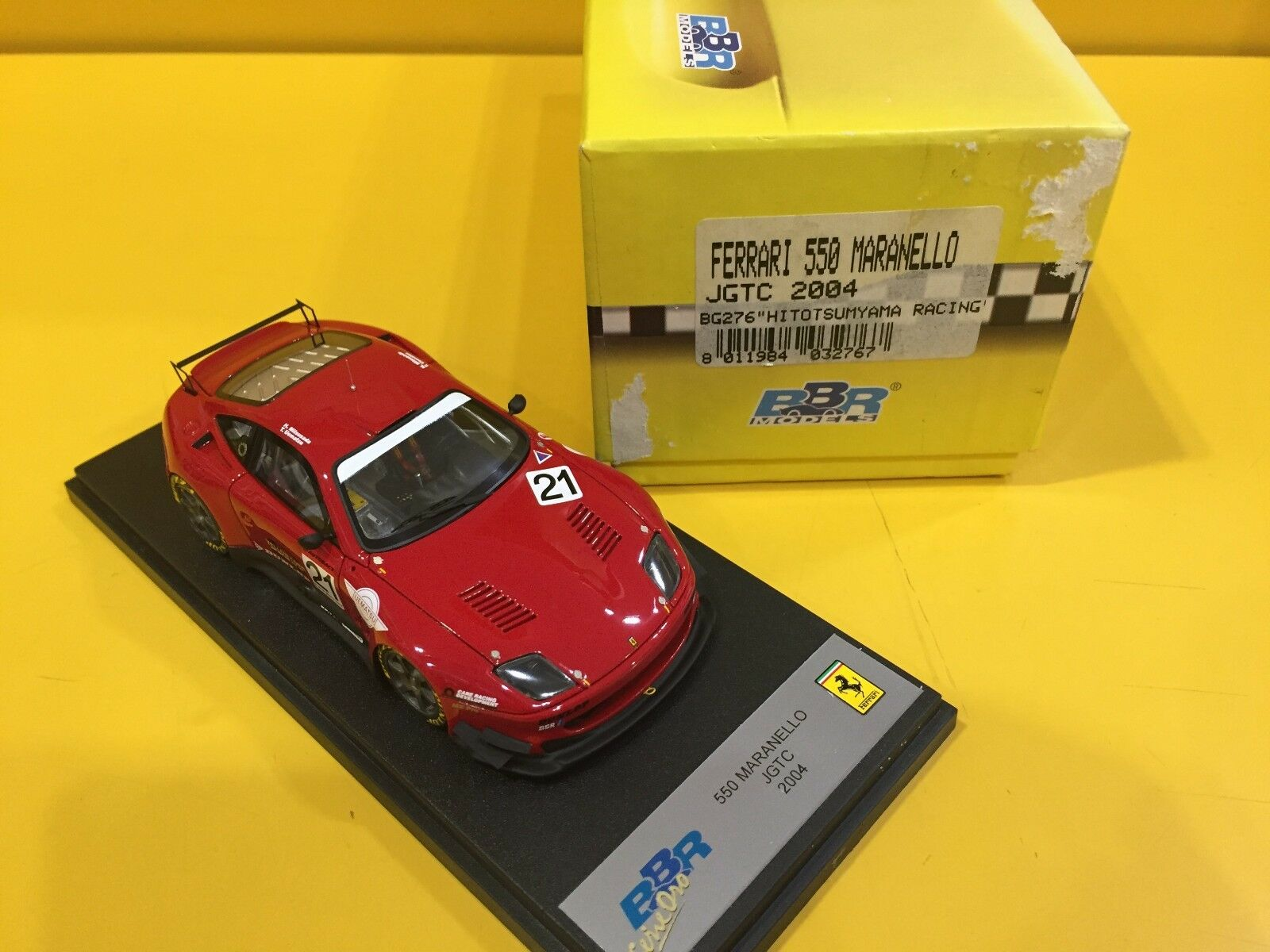 BBR MODELS BG276 - Ferrari  Maranello JGTC 2018