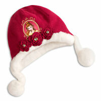 Disney Store Belle Winter Beanie Hat Kids Girls Beauty And The Beast Gift