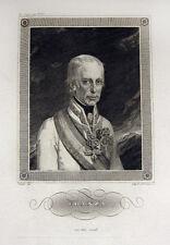 Franz II. (HRR) Franz I Österreich Porträt 1850 Franz Xaver Stöber & Jakob Hyrtl