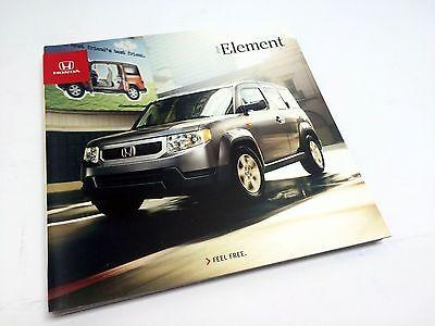 2009 Honda Pilot Deluxe Sales Brochure Book