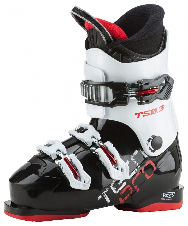 Tecno Pro Alpin Ski Schuh Kinder T50.3 Sport  schwarz   weiss   rot