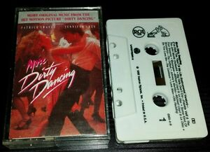Image Is Loading Dirty Dancing Soundtrack Cassette Tape RARE