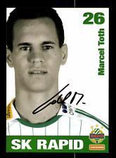 Marcel Toth Autogrammkarte Rapid Wien 2008-09 Original Signiert+159250
