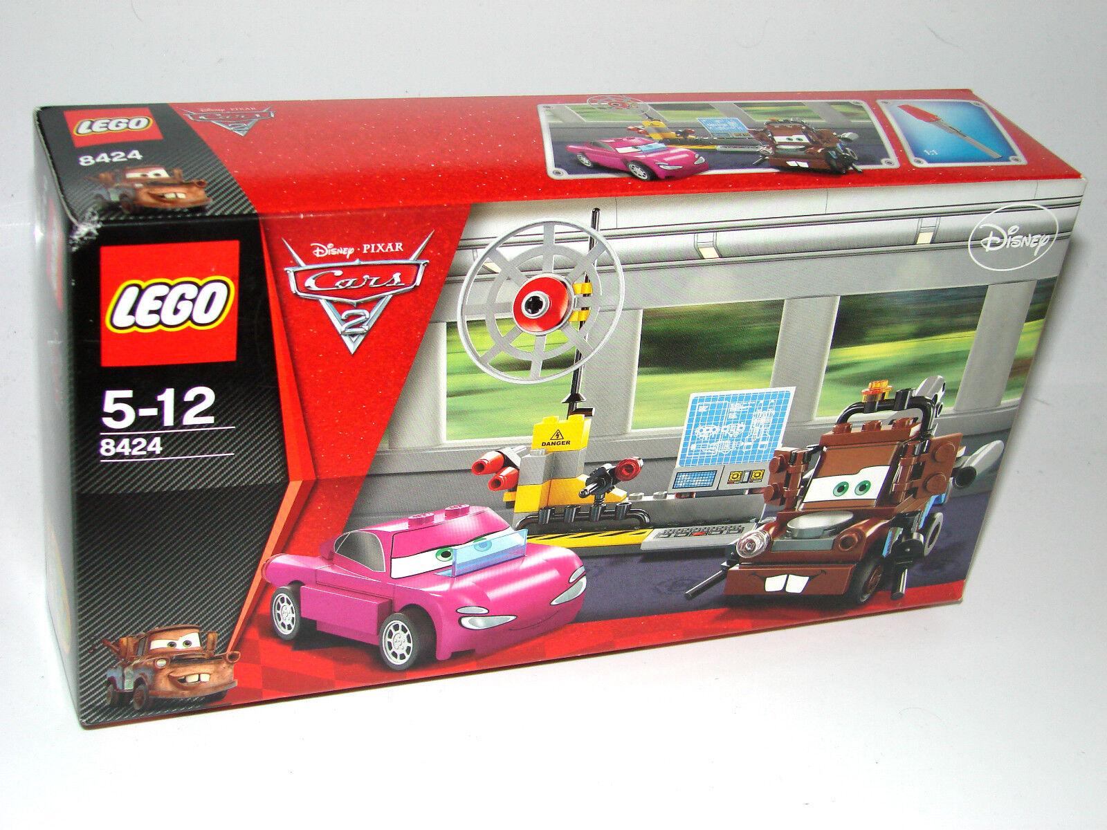 LEGO® Cars 8424 Hooks Agentenzentrale NEU OVP_ Mater's Spy Zone NEW MISB NRFB