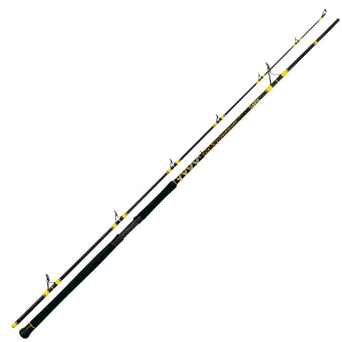 Passion Pro DX Spin 2,70m 60-200g Rhino Black Cat Wallerrute Angelrute Angeln