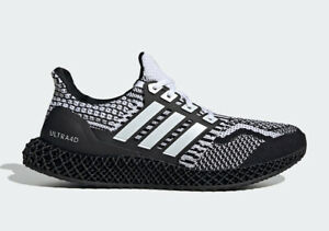 """Adidas Ultra 4D 5.0 Running Shoes """"Cookies and Cream"""" G58158 Men's NEW"""
