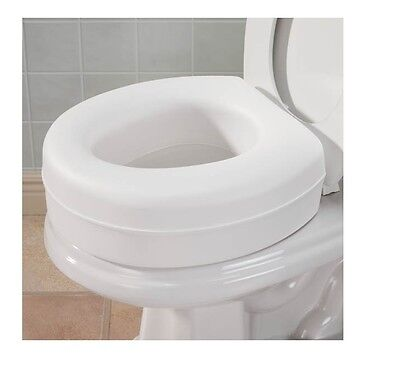 Toilet Seat Riser Extra 4 Inch On Toilet Seat Provides