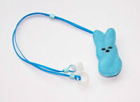 Children's Hearing Aids Retainer Leash Clip For 2 H.a.'s .....blue Bunny