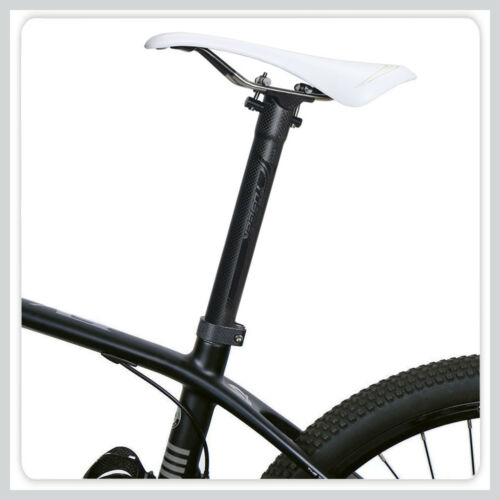 Toseek super Light 3K carbon Bike Seat post 160g 27.2//30.8//31.6 Titanium screws