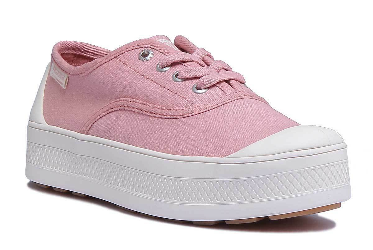 Palladium Sub Sub Sub Low Womens pink gold Canvas Trainer Size UK 3 - 8 c794cb