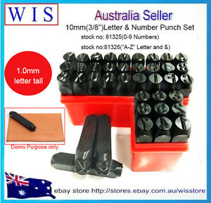 36pc-Letter-amp-Number-Punch-Set-034-A-Z-034-Letter-and-034-amp-034-and-034-0-9-034-10mm-3-8-034