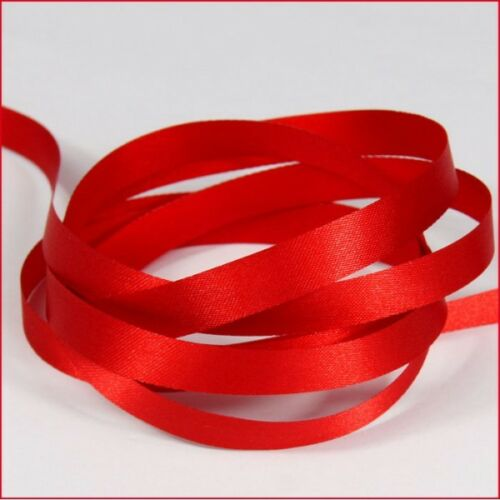 Mixed Colour Red Green Satin Ribbon Bundle 10mtrs 6mm 12mm 25mm Craft Christmas