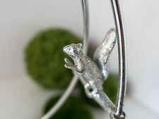 ANTIQUE SILVER PLATE  BRIDE BASKET FIGURAL SQUIRREL 1800s VICTORIAN QUADRUPLE