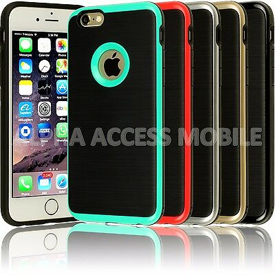 For Apple iPhone 6 6S / Plus Case Shockproof Protective Stylish Silicone Cove