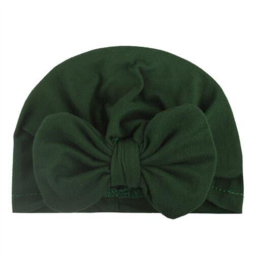 Baby Headband Bow Turban Hat Cap Headband Hair Band Headwear For Girls Kids SC