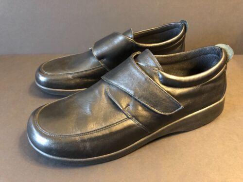 Women's Arcopedico Velcro Comfort Shoes Black Size