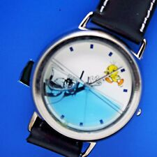 Tweety Bird, Sylvester Watch Looney Tunes Sylvester in Water Watch Vintage New
