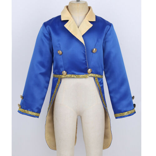 Child Boys Arabian Prince Fancy Dress Costume Fairy Tale Outfit Cosplay Clothing